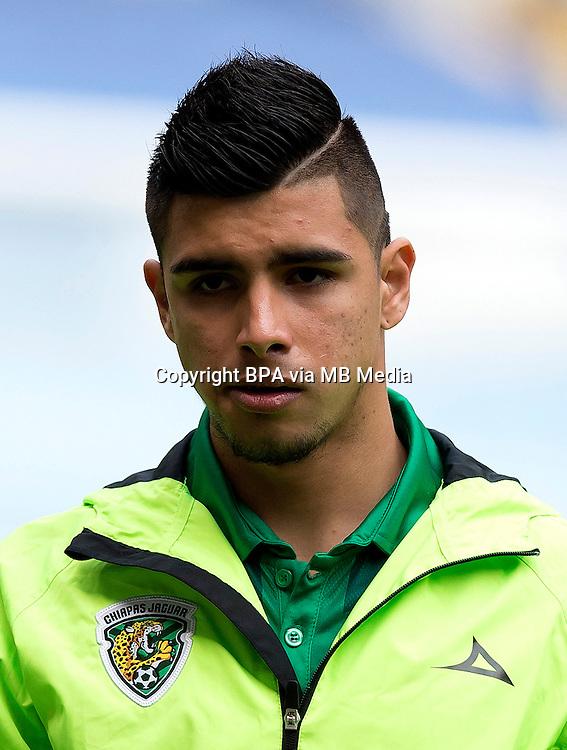 Mexico League - BBVA Bancomer MX 2014-2015 - <br /> Jaguares - Jaguares de Chiapas Futbol Club / Mexico - <br /> Adrian Marin Lugo