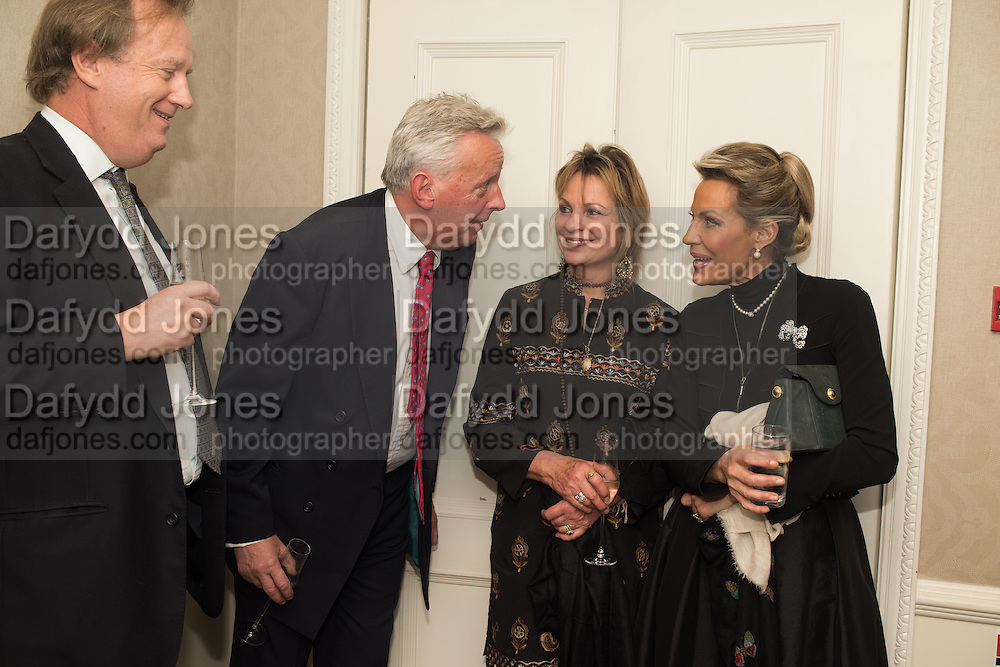 DAVID WINDSOR-CLIVE; VISCOUNT WINDSOR; VISCOUNTESS WINDSOR; LEONIE FRIEDA;, An evening of entertainment at St James Court in support of the redevelopment of St Fagans National History Museum. In the spirit of the court of Llywelyn the Great . St. James Court Hotel. London. 17 September 2015<br />  <br /> Noson o adloniant yn St James Court i gefnogi ail-ddatblygiad Sain Ffagan Amgueddfa Werin Cymru