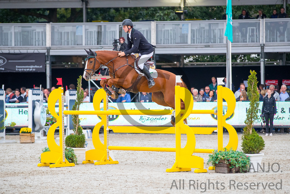 Thomas Mertens - Gintura<br /> FEI World Breeding Jumping Championships for Young Horses 2016<br /> © DigiShots