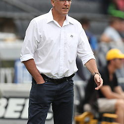 Gary Teichmann (Chief executive officer) of the Cell C Sharks during the Super Rugby match between the Cell C Sharks and the Western Force at Growthpoint Kings Park on May 06, 2017 in Durban, South Africa. (Photo by Steve Haag)