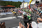 Limoux, Tour de France, 2012 stage 14, Riders starting