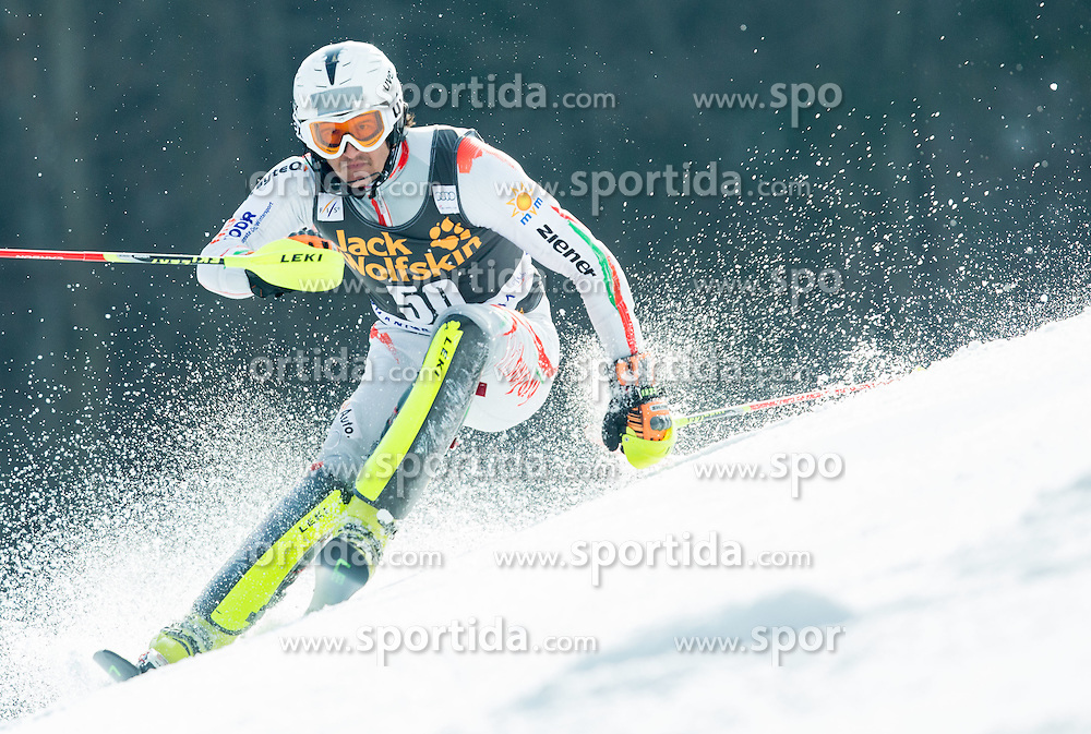 SAMSAL Dalibor of Hungary competes during 1st Run of Men Slalom race of FIS Alpine Ski World Cup 54th Vitranc Cup 2015, on March 15, 2015 in Kranjska Gora, Slovenia. Photo by Vid Ponikvar / Sportida