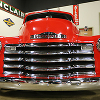 A 1951 Chevy pick-up owned by James Crowe is on display at the Tupelo Automobile Museum during the classic truck exhibit that runs until September 30.