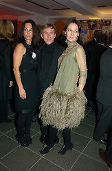 Left to right, AMANDA, LADY HARLECH, JASPER CONRAN and LUCY BIRLEY at a party to celebrate the 90th birthday of Vogue magazine held at The Serpentine Gallery, Kensington Gardens, London on 8th November 2006.<br />