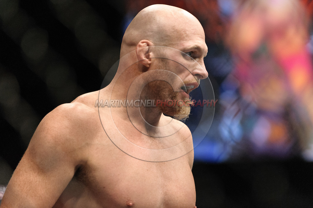 "LAS VEGAS, NEVADA, MAY 24, 2008: Keith Jardine stands ready in his corner during ""UFC 84: Ill Will"" inside the MGM Grand Garden Arena in Las Vegas"