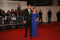 June 30, 2017 - Buenos Aires, Buenos Aires, Argentina - Barcelona F.C. player Sergio Busquets and his wife pose at the red carpet prior to Lionel Messi and long time sweetheart Antonella Roccuzzo's wedding party.The ceremony and party had over 250 guests that included his fellow Barcelona F.C. players, pop star Shakira, family and childhood friends. (Credit Image: © Patricio Murphy via ZUMA Wire)