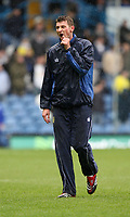 Photo: Paul Greenwood/Sportsbeat Images.<br /> Leeds United v Huddersfield Town. Coca Cola League 1. 08/12/2007.<br /> Leeds United's Tore Andre Flo during the pre-game warm up