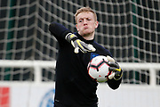 Jordan Pickford (Everton) during the England training session ahead of the UEFA Euro Qualifier against the Czech Repulbic, at St George's Park National Football Centre, Burton-Upon-Trent, United Kingdom on 19 March 2019.