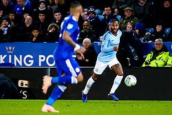 Raheem Sterling of Manchester City - Mandatory by-line: Robbie Stephenson/JMP - 18/12/2018 - FOOTBALL - King Power Stadium - Leicester, England - Leicester City v Manchester City - Carabao Cup Quarter Finals