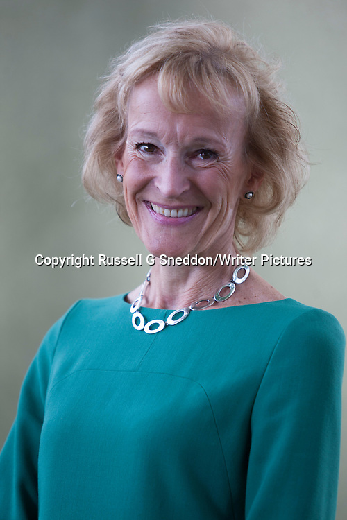 Sue Lawrence at Edinburgh International Book Festival 2014<br /> 9th August 2014<br /> <br /> Picture by Russell G Sneddon/Writer Pictures<br /> <br /> WORLD RIGHTS