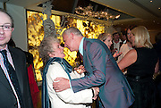 MAGGI HAMBLING; MICHAEL BARRYMORE, Book launch party for the paperback of Nicky Haslam's book 'Sheer Opulence', at The Westbury Hotel. London. 21 April 2010