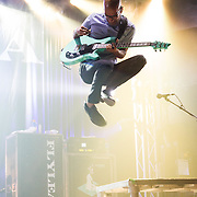 Sameer Bhattacharya of Flyleaf at the Granada Theater in Dallas Texas for Dr. Pepper #oneofakindsound concert series.