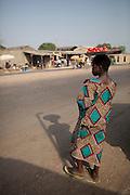 Parakou,Benin. December 2009. One of the markets in Parakou.