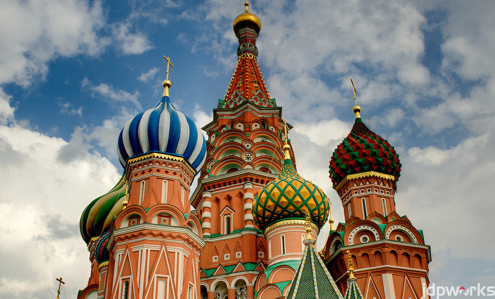 St. Basil's Cathedral Red Square Moscow