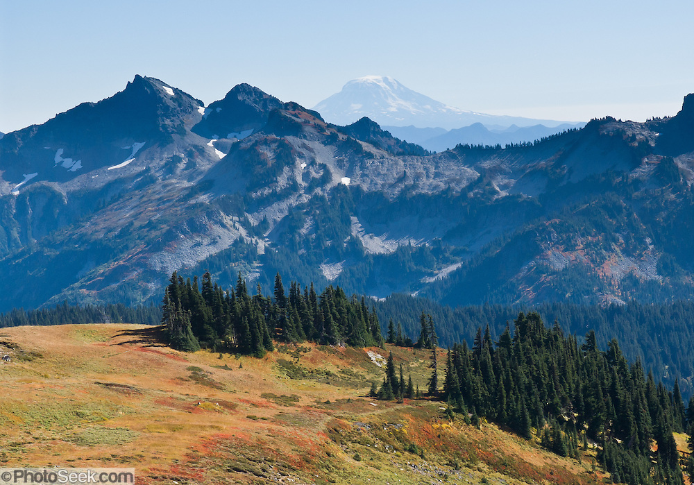 Tatoosh Range, Mount Rainier National Park, Washington, USA