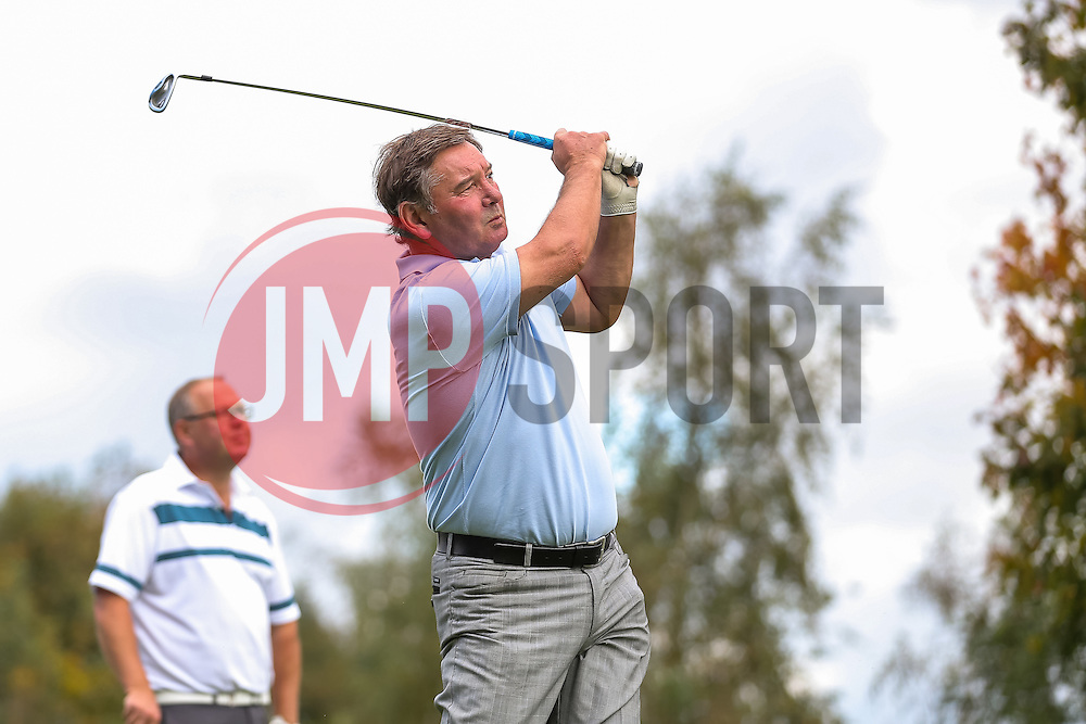 Pete Aitken of Bristol Rovers joins team Blue Poppy as they take part in the annual Bristol Rovers Golf Day - Rogan Thomson/JMP - 10/10/2016 - GOLF - Farrington Park - Bristol, England - Bristol Rovers Golf Day.