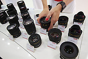 Photokina 2010, World's biggest bi-annual photo fair. Sigma lenses.