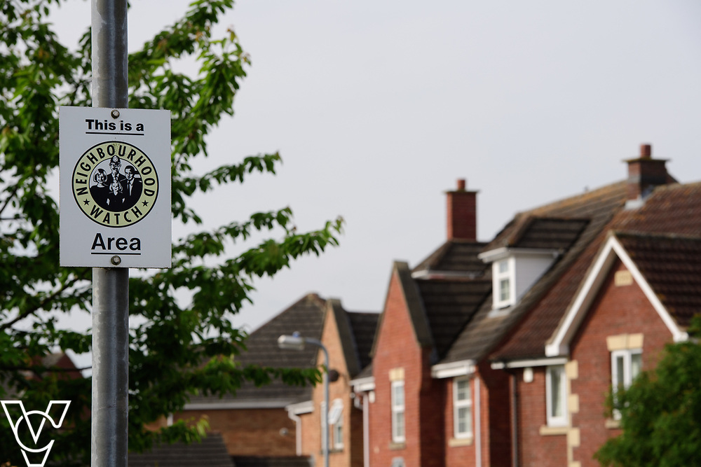 North Kesteven District Council (NKDC) - stock photography: Neighbourhood Watch signs in Bath Road, Bracebridge Heath<br /> <br /> Picture: Chris Vaughan Photography<br /> Date: June 2, 2017
