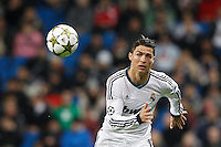 04.12.2012 SPAIN -  Champions League 12/13 Matchday 6th  match played between Real Madrid CF vs AFC Ajax (4-1) at Santiago Bernabeu stadium. The picture show Cristiano Ronaldo (Portuguese forward of Real Madrid)