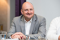 20 JUN 2017, BERLIN/GERMANY:<br /> Bernd Ruetzel, MdB, SPD, Veranstaltung des Deutschen Gewerkschaftsbundes, DGB, &quot;Mitbestimmung st&auml;rken - Betriebsratsbehinderung stoppen!&quot;, Crown Plaza Hotel<br /> IMAGE: 20170620-01-140<br /> KEYWORDS: Bernd R&uuml;tzel