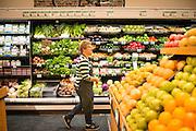 Lisa Sedlar on opening day of Green Zebra Grocery
