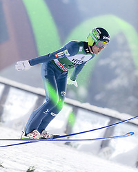 February 8, 2019 - Lahti, Finland - Jernej Damjan participates in FIS Ski Jumping World Cup Large Hill Individual training at Lahti Ski Games in Lahti, Finland on 8 February 2019. (Credit Image: © Antti Yrjonen/NurPhoto via ZUMA Press)