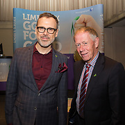 10.10. 2017.          <br /> Pictured at the Limerick Going for Gold 2017 finals in the Strand Hotel were, Richard Lynch, ILovelimerick.com and completion judge, Richard Barry.<br /> <br /> <br /> Limerick Going for Gold, which is sponsored by the JP McManus Charitable Foundation, has a total prize pool of over €75,000.  It is organised by Limerick City and County Council and supported by Limerick's Live 95FM, The Limerick Leader and The Limerick Chronicle, The Limerick Post, Parkway Shopping Centre, I Love Limerick and Southern Marketing Media & Design. Picture: Alan Place