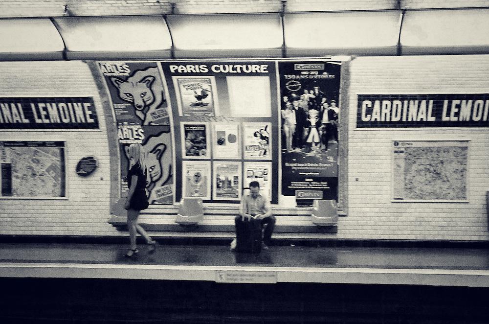 Metro in Paris, France