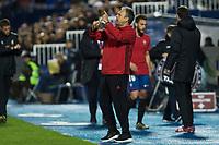 Club Atletico Osasuna's Joaquin Caparros during the match of La Liga between Club Deportivo Leganes  and Club Atletico Osasuna at Butarque Stadium  in Madrid , Spain. November 21, 2016. (ALTERPHOTOS/Rodrigo Jimenez)