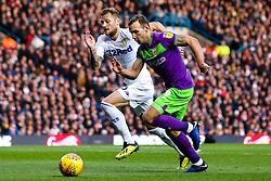 Andreas Weimann of Bristol City takes on Liam Cooper of Leeds United - Mandatory by-line: Robbie Stephenson/JMP - 24/11/2018 - FOOTBALL - Elland Road - Leeds, England - Leeds United v Bristol City - Sky Bet Championship