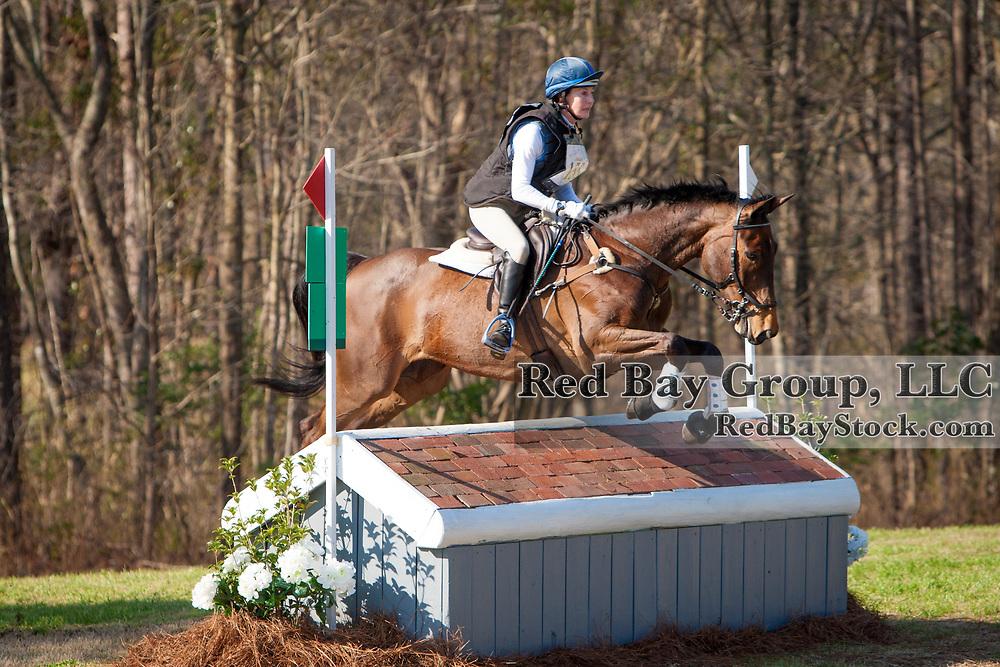 Kelli Temple (CAN) and Matilda at the Carolina International in Raeford, North Carolina.