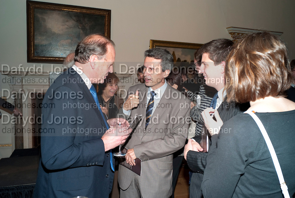 HE ION JINGA Ambassador of Romania, No New Thing Under the Sun. Royal Academy. Piccadilly. London. 20 OCTOBER 2010. -DO NOT ARCHIVE-© Copyright Photograph by Dafydd Jones. 248 Clapham Rd. London SW9 0PZ. Tel 0207 820 0771. www.dafjones.com.