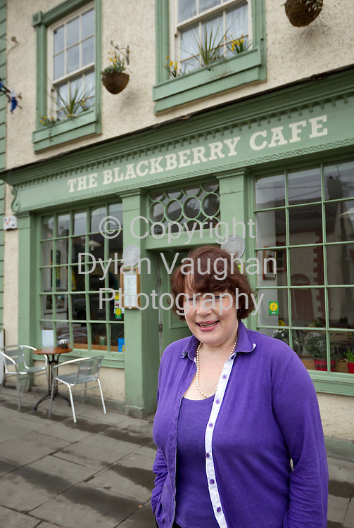 6/3/2012.Jackie Hoyne pictured at the Blackberry Cafe in Thomastown County Kilkenny..Picture Dylan Vaughan.. .
