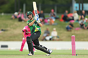 Stags Ben Smith batting during the Burger King Super Smash Twenty20 cricket match Knights v Stags played at Bay Oval, Mount Maunganui, New Zealand on Wednesday 27 December 2017.<br /> <br /> Copyright photo: © Bruce Lim / www.photosport.nz