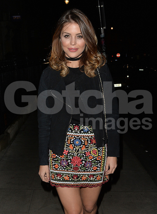 TOWIE star Chloe Lewis at Roka restaurant in London, UK. 17/04/2016<br />