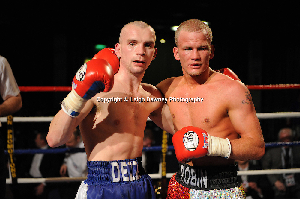 at the Reebok Stadium on Saturday 26th February 2011. Hatton Promotions. Photo credit © Leigh Dawney.