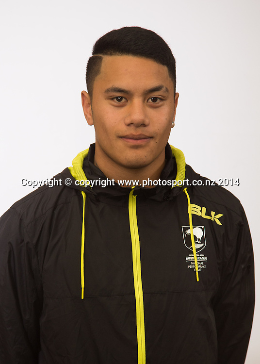 NZRL National Performance Camp U18's, Rotorua, New Zealand. Sunday, 13 July, 2014. Photo: John Cowpland / photosport.co.nz