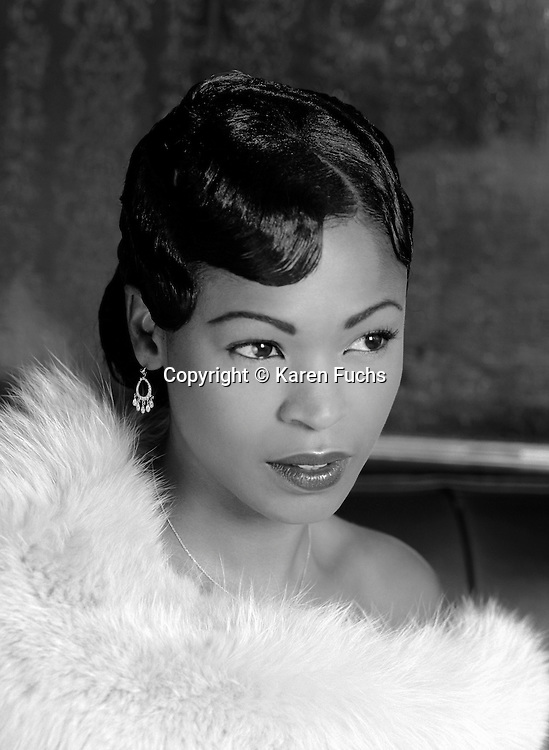 Nia Long Nia Long as Billy Holiday in the Lenox Lounge, Harlem, NY, Cover for New York Moves Magazine