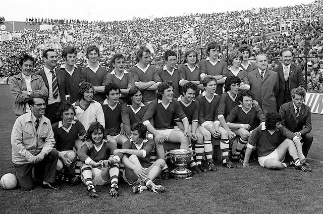 All Ireland Minor Football Final.Croke Park.Cork v Mayo..23.09.1974  23rd September 1974