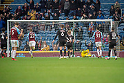 Goal Burnley forward Chris Wood (11) scores a goal from the his penalty kick during the The FA Cup 3rd round match between Burnley and Barnsley at Turf Moor, Burnley, England on 5 January 2019.