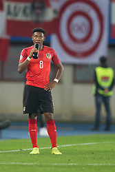 March 21, 2019 - Vienna, Austria - David Alaba of Austra during the UEFA European Qualifiers 2020 match between Austria and Poland at Ernst Happel Stadium in Vienna, Austria on March 21, 2019. (Credit Image: © Foto Olimpik/NurPhoto via ZUMA Press)