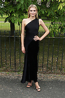 Lily Donaldson, The Serpentine Gallery Summer Party, Serpentine Gallery, London UK,  06 July 2016, Photo by Richard Goldschmidt