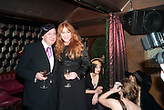 STEPHEN JONES; CHARLOTTE TILBURY, Downstairs at Momos. Momo Restaurant. Heddon st. London. 22 February 2010.