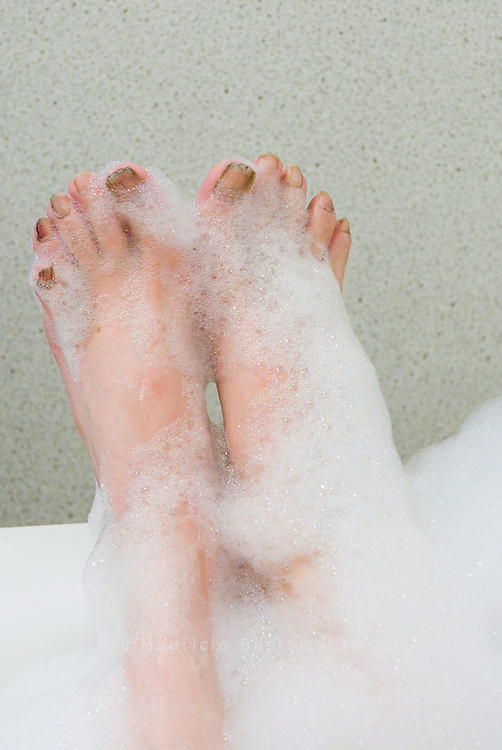 Tohrsten in hei&szlig;es Bad bei Piko-Badeland.<br /> Medizinische B&auml;der zur Behandlung von Obdachlose.
