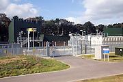 The Greater Gabbard windfarm onshore Leiston 132 kV substation, Sizewell, Suffolk, England