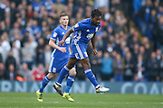 Birmingham City  midfielder Jacques Maghoma (19)  during the EFL Sky Bet Championship match between Birmingham City and Aston Villa at St Andrews, Birmingham, England on 30 October 2016. Photo by Simon Davies.
