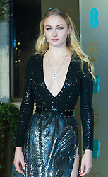 Photo Must Be Credited ©Alpha Press<br /> Sophie Turner<br /> arrives at the EE British Academy Film Awards after party dinner at the Grosvenor House Hotel in London.