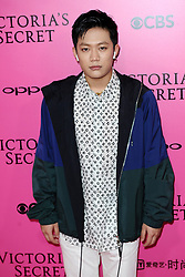 PG One attending the Pink Carpet prior to the Victoria's Secret Fashion Show at the Mercedes-Benz Arena Shanghai in Shanghai, China.