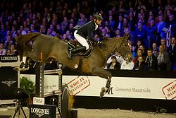 Epaillard Julien, FRA, Toupie de la Roque<br /> Jumping Indoor Maastricht 2017<br /> © Hippo Foto - Sharon Vandeput<br /> 12/11/17