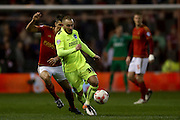 Brighton striker Jiri Skalak (38)  during the Sky Bet Championship match between Nottingham Forest and Brighton and Hove Albion at the City Ground, Nottingham, England on 11 April 2016. Photo by Simon Davies.